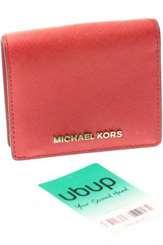 9aae021fa8ae7 MICHAEL MICHAEL KORS Portemonnaie Damen Geldbörse Geldbeutel Kunstleder rot