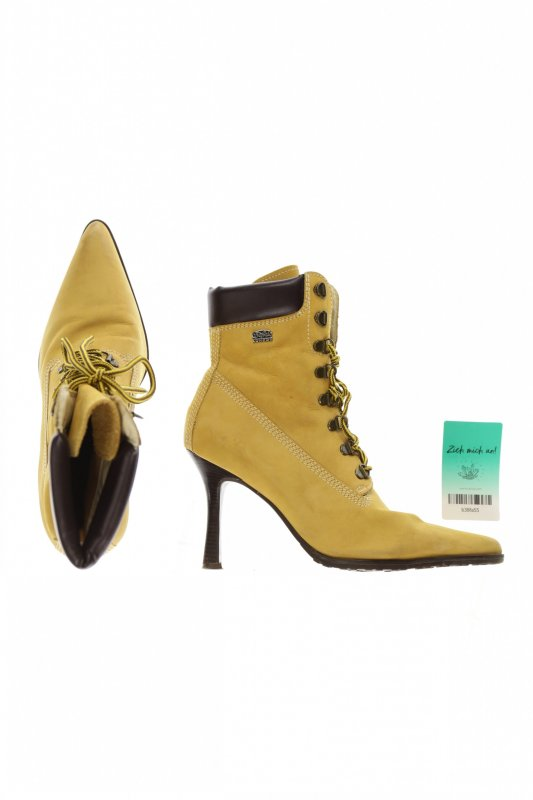 Stiefelette von Buffalo   Gr. DE 40   gelb   Damen   #b38fa55